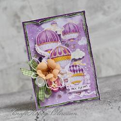balony,życzenia,urodziny,imieniny,rocznica - Kartki okolicznościowe - Akcesoria