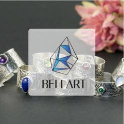 pierścionek zaręczynowy,opal,gładki - Pierścionki - Biżuteria