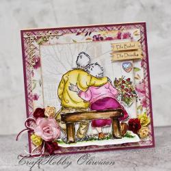 dla babci,dla dziadka,dzień babci,dzień dziadka - Kartki okolicznościowe - Akcesoria