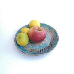 miska,misa,patera,raku,talerz - Ceramika i szkło - Wyposażenie wnętrz
