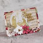 Kartki okolicznościowe Święta,Boże Narodzenie,szopka,gloria