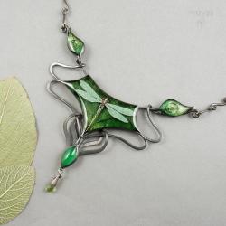 naszyjnik z ważką - Naszyjniki - Biżuteria