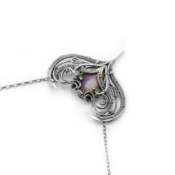biżuteria fantasy,magiczny wisiorek,baśniowy - Naszyjniki - Biżuteria