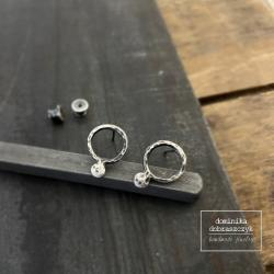 minimalizm,kółko,kółka,sztyfty - Kolczyki - Biżuteria