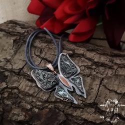 aillilstudio,motyl,eteryczny,kobiecy - Wisiory - Biżuteria