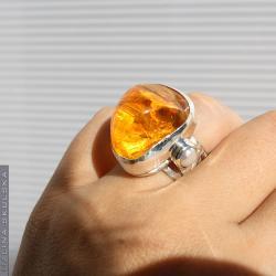 okazały,bogaty,bursztyn,perły,regulowany,otwarty - Pierścionki - Biżuteria