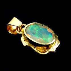 opal,złoto,blask,złoty,tęczowy,klejnot,delikatny, - Wisiory - Biżuteria