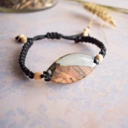 bransoletka,makramowa bransoletka - Bransoletki - Biżuteria