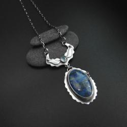 naszyjnik,biżuteria,lapis lazuli,rękodzieło, - Naszyjniki - Biżuteria