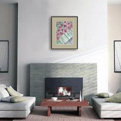róże,kwiaty,ilustracja,ogród,na ścianę, - Ilustracje, rysunki, fotografia - Wyposażenie wnętrz