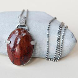 nitza,prosta forma,agat, - Wisiory - Biżuteria