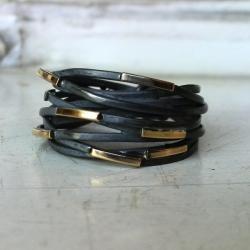 pierścionek srebro ze złotem - Pierścionki - Biżuteria