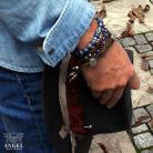 Bransoletki biżuteria męska,bransolety z koralików
