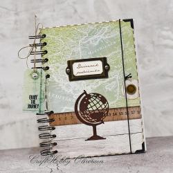 notes,dziennik,notatnik,podróż - Notesy - Akcesoria
