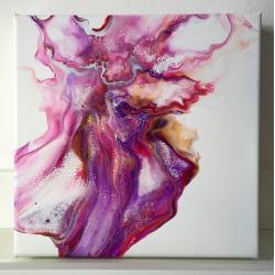 pouring,abstrakcja,nowoczesny,akryl - Obrazy - Wyposażenie wnętrz