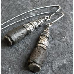 kolczyki wiszące,kolczyki srebrne,na prezent - Kolczyki - Biżuteria