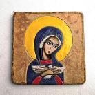 Ceramika i szkło Beata Kmieć,ikona,Maryja,Pneumatofora