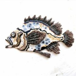 Beata Kmieć,ryba,dekor,ceramika - Ceramika i szkło - Wyposażenie wnętrz