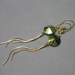 długie,wiszące,eleganckie,glamour - Kolczyki - Biżuteria