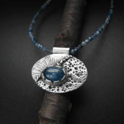 naszyjnik,biżuteria srebrna,ręcznie robiona - Naszyjniki - Biżuteria