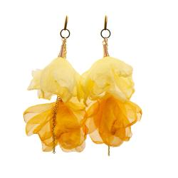 kwiaty,lekkie kolczyki,na imprezę,prezent - Kolczyki - Biżuteria