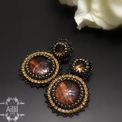 ekskluzywne,eleganckie,bogate,wyrafinowane - Kolczyki - Biżuteria