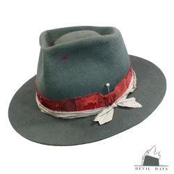kapelusz wełniany,ręcznie robiony kapelusz - Inne - Dodatki