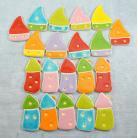 Ceramika i szkło domek,kolorowe,energetyczne