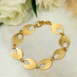 bransoletka,złota,casual,trendy,lekka,Rea - Bransoletki - Biżuteria