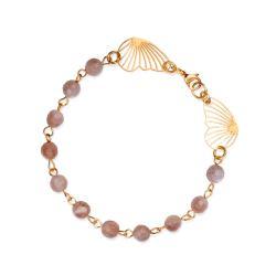 bransoletka dla niej,kamień słoneczny - Bransoletki - Biżuteria