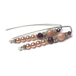 eleganckie,perłowe,klasyczne - Kolczyki - Biżuteria