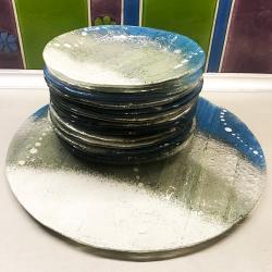 zestaw deserowy talerzyki ciasto pomysł na prezent - Ceramika i szkło - Wyposażenie wnętrz