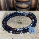 Bransoletki bransoleta z koralików,męska biżuteria