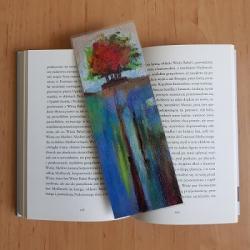 zakładka do książki,drzewo - Zakładki do książek - Akcesoria