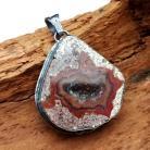 Wisiory agat,mineral,kryształ,szarości,srebrny,mineralny,