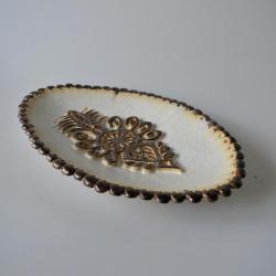 patera góralska,parzenica,z parzenicą - Ceramika i szkło - Wyposażenie wnętrz