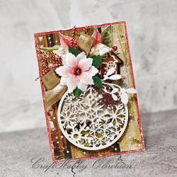 boże narodzenie,bombka,święta,życzenia,aniołek - Kartki okolicznościowe - Akcesoria