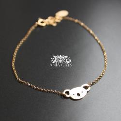 koala,miś,bransoletka - Bransoletki - Biżuteria
