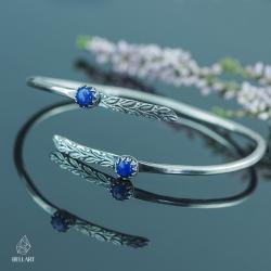 bangla,liście,boho,kobieca,elegancka - Bransoletki - Biżuteria