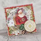 Kartki okolicznościowe Święta,Boże Narodzenie,vintage,mikołaj