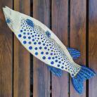 Ceramika i szkło ryba,ceramika,płaskorzeźba,unikat,dekor
