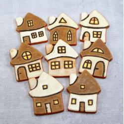chatki,wiejskie,rustykalne,amgnesy - Magnesy na lodówkę - Wyposażenie wnętrz