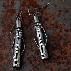 metaloplatyka,techniki jubilerskie - Kolczyki - Biżuteria