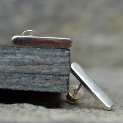 eleganckie,proste kolczyki sztyfty,minimalistyczne - Kolczyki - Biżuteria