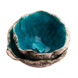 ceramika,ceramika artystyczna,miski,zestaw - Ceramika i szkło - Wyposażenie wnętrz