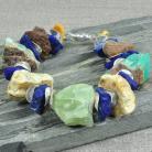 Bransoletki etno,bursztyn,lapis lazuli,etniczna