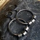 Kolczyki kolczyki wiszące,kolczyki koła,kolczyki srebro