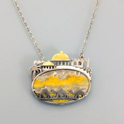 wisior z wielbłądami,Noske Design,Marina Noske - Wisiory - Biżuteria