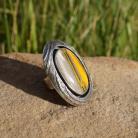 Pierścionki Pierścionek srebrny z bumblee bee