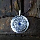 Naszyjniki srebrna mandala,srebrny wisior